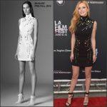 Bella Thorne in Mugler at the 'Scream' 2015 Los Angeles Film Festival Premiere