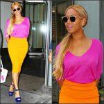 Beyonce in Balenciaga and Prada – New York