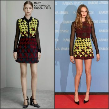 cara-delevingne-in-mary-katrantzou-at-the-paper-towns-berlin-photocall