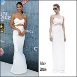 Chanel Iman  in Solace London at the 2015 Spike TV' Guys Choice Awards