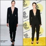 Cobie Smulders in Misha Nonoo  at  'Unexpected' Premiere in New York
