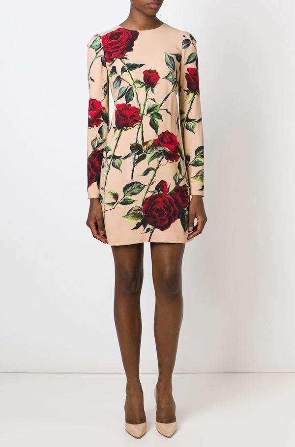 dolce-gabbana-rose-print-shift-dress-long-sleeve-2