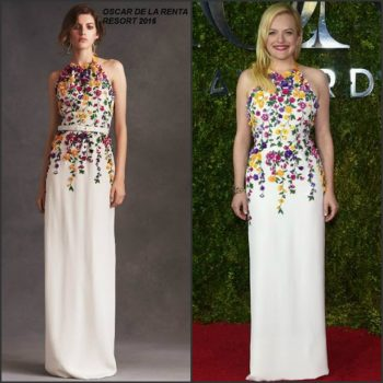 elisabeth-moss-in-oscar-de-la-renta-at-the-2015-tony-awards