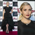 Elizabeth Olsen In Christian Dior  at 'Avengers: Age of Ultron' Tokyo Premiere