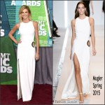 Erin Andrews in Mugler  at the 2015 CMT Music Awards