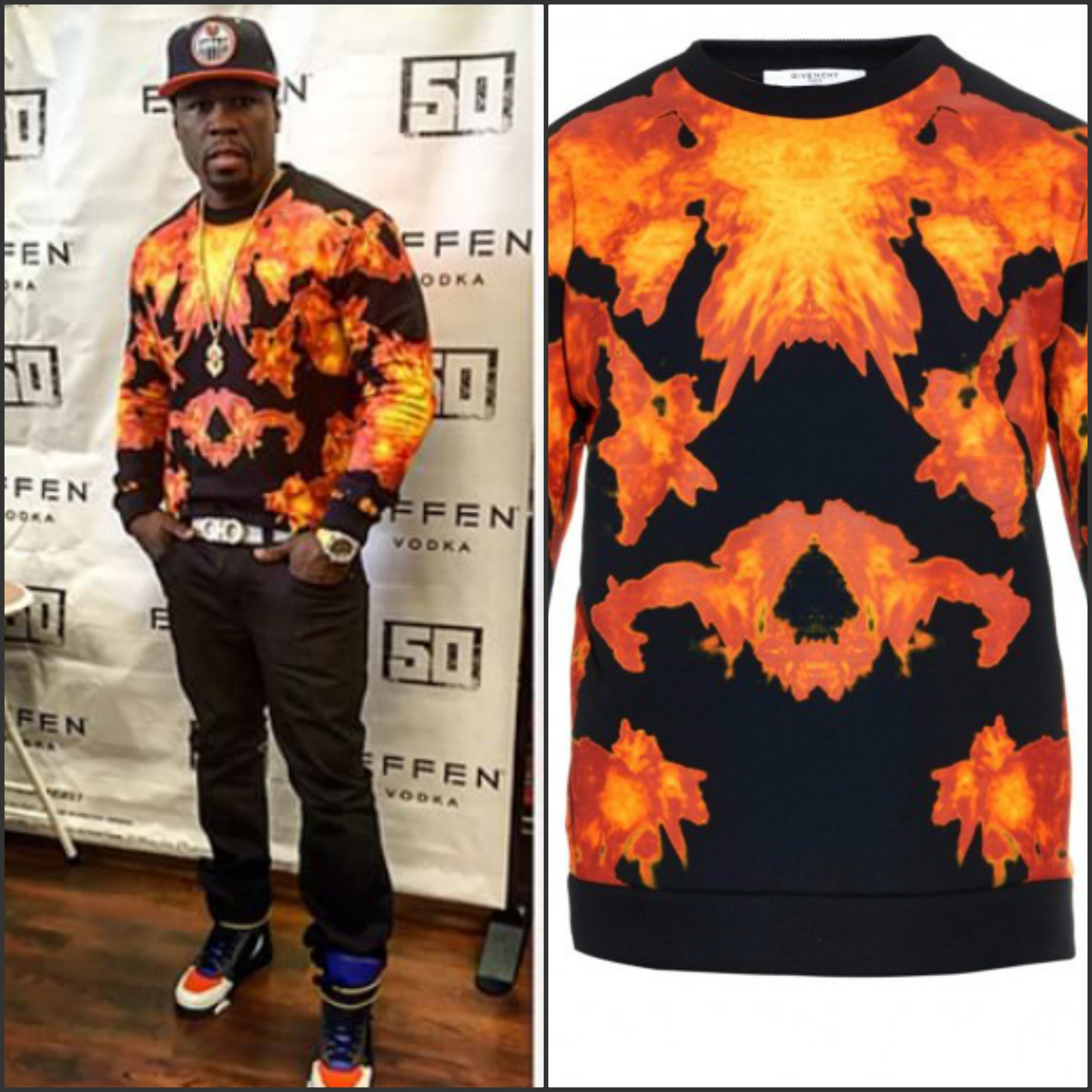 fifty-cents-givenchy-flame-print-cuban-fit-cotton-sweatshirt-tyson-leather-high-top-sneakers