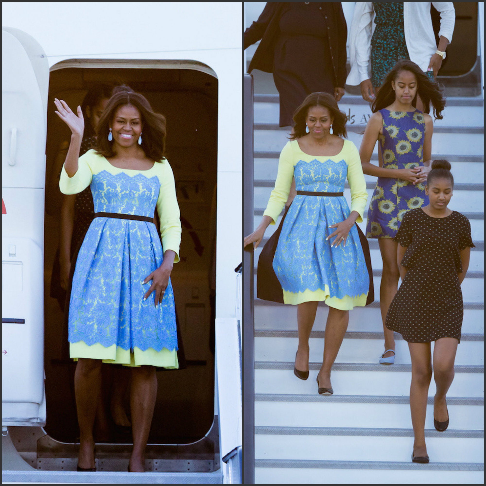 first-lady-michellle-obama-wears-preen-by-thornton-bregazzi-dress-trip-to-the-uk