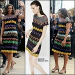 Michelle Obama in Missoni Visiting Italy