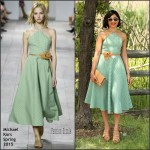 Freida Pinto In Michael Kors at  8th Annual Veuve Clicquot Polo Classic