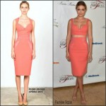 Gigi Hadid in Rubin Singer at The American Diabetes Association's Father of the Year Awards