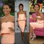 Jada Pinkett Smith in Elizabeth and James  at 'Magic Mike XXL Promo Tour ' on 'Despierta America'.