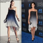 Jaimie Alexander in Halston Heritage at the  2015 Critics' Choice Television Awards