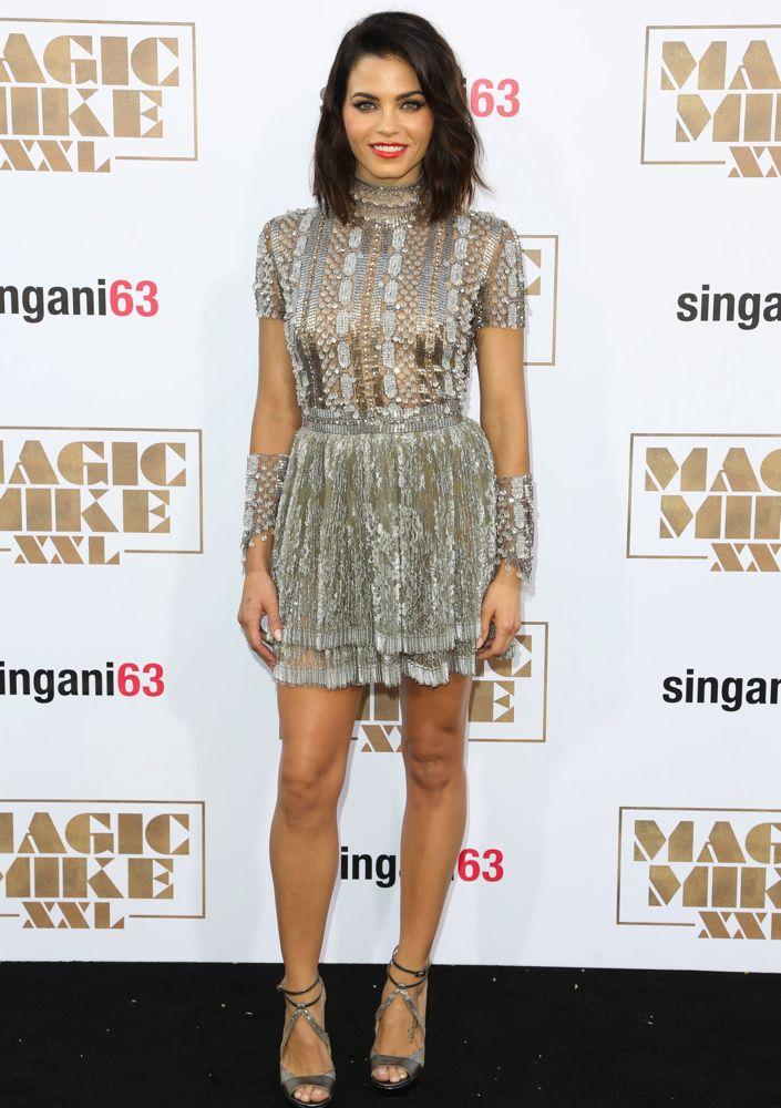 Jenna -Dewan-Tatum- In -Reem Acra at 'Magic- Mike -XXL-' LA -Premiere
