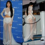 Kylie Jenner  in sheer gown – DailyMail.com Yacht Party in Cannes
