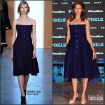 "Michelle Monaghan  in Derek Lam at the ""Pixels""  Photocall in Cancun"