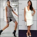 Mila Kunis In Antonio Berardi  at  Gemfields Ruby Launch Event