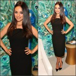 Mila Kunis In Roland Mouret  at  Faberge Cocktail Reception