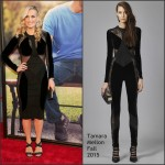 Molly Sims in Tamara Mellon at 'Ted 2′ Premiere in New York