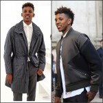 Nick Young in Neil Barrett & Ermenegildo Zegna – Milan Fashion Week