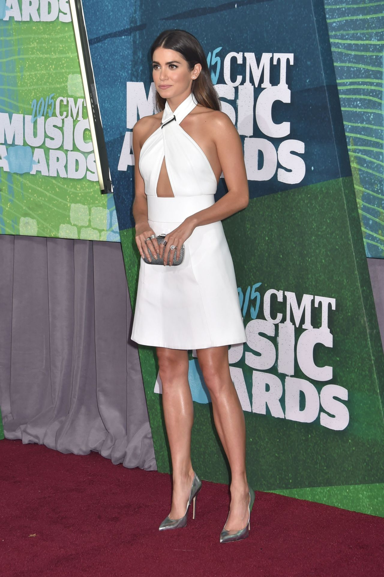 Nikk-i Reed- In -Kaufmanfranco - at -the - CMT- Music -Awards