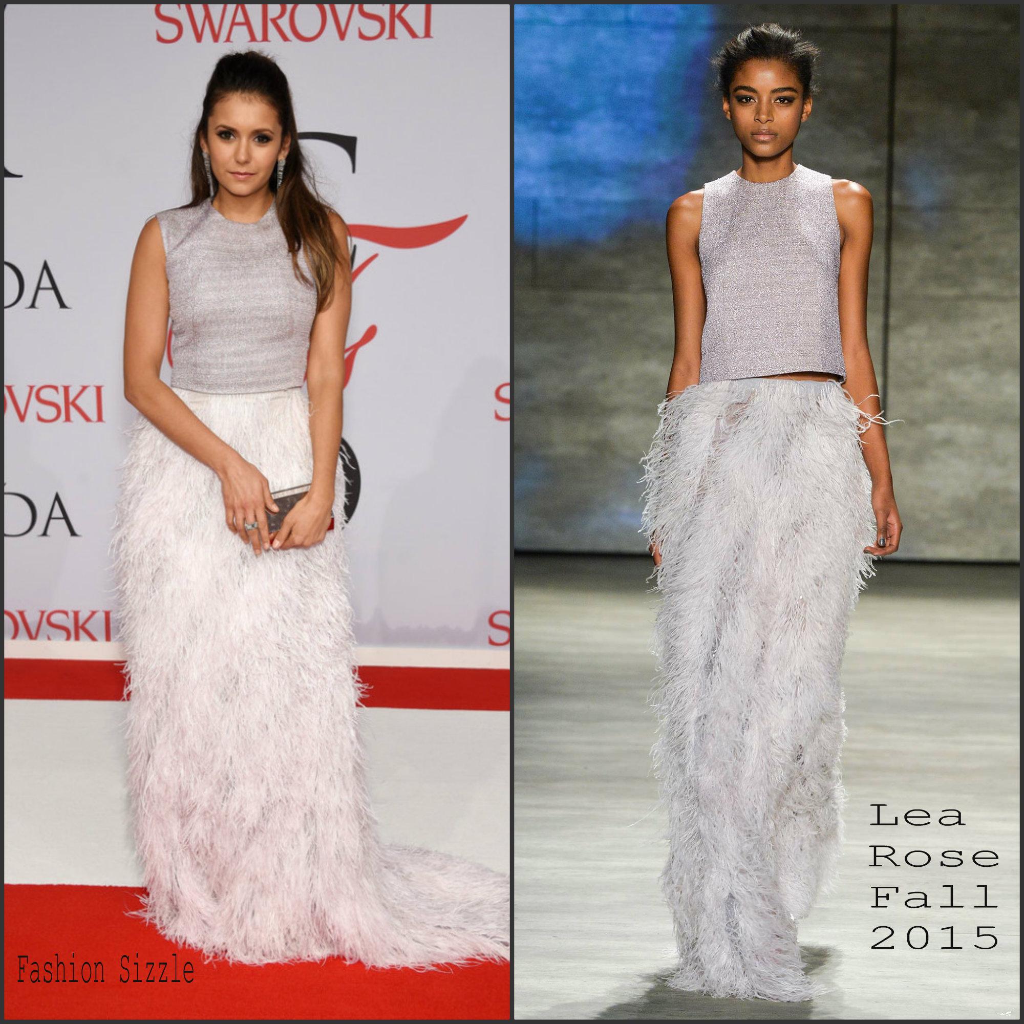nina-dobrev-in-lea-rose-at-the-2015-cfda-fashion-awards