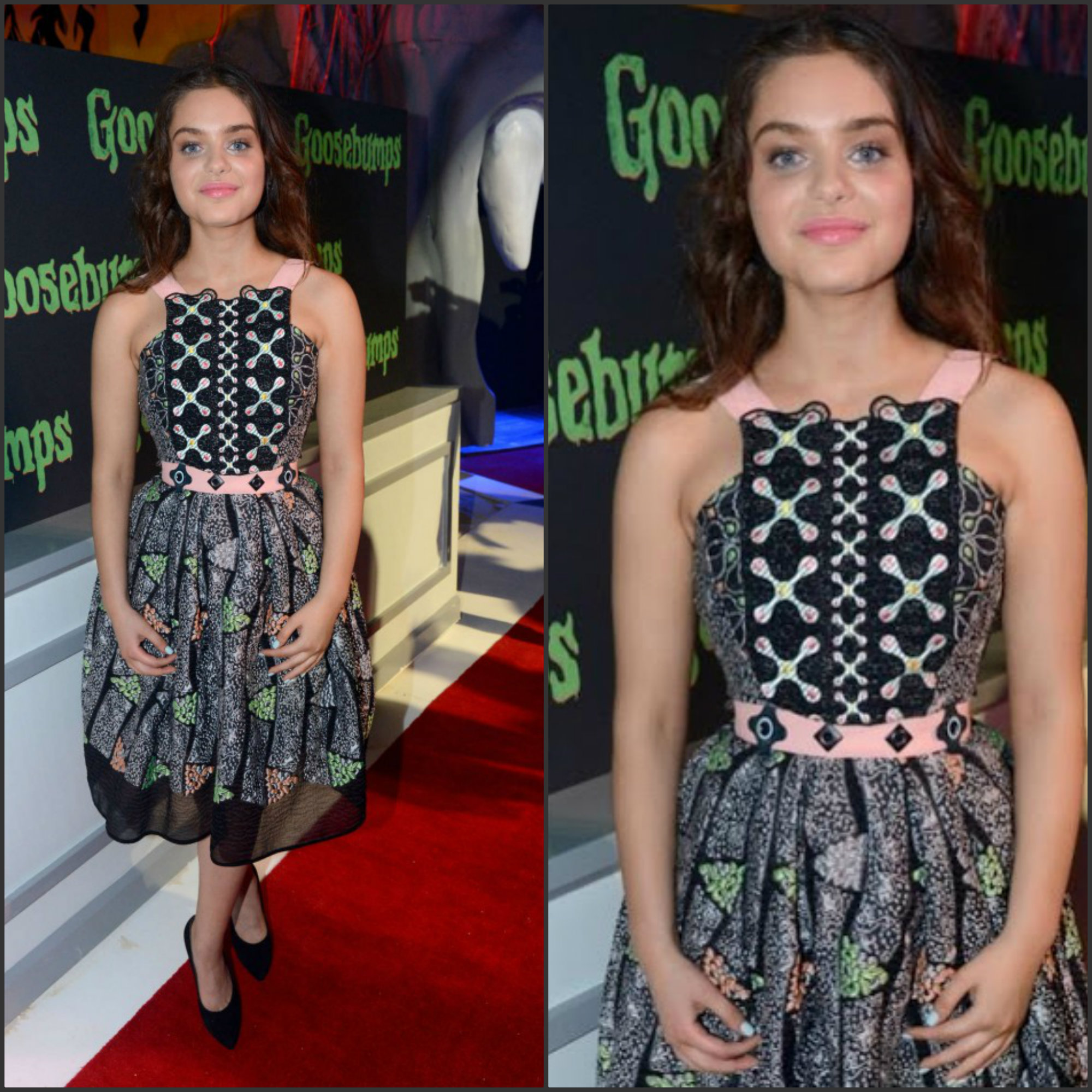 odeya-rush-in-peter-pilotto-at-the-goosebumps-2015-summer-of-sony-pictures-entertainment-photocall