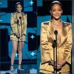 Rihanna In Giorgio Armani – 2015 BET Awards