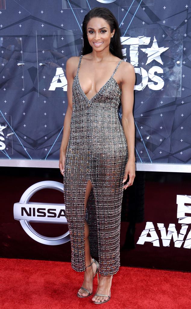 Ciara -in  -Wes- Gordon - 2015 -BET -Awards