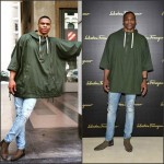 Russell Westbrook  attends  Milan Men's Fashion Week