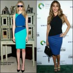 Sofia Vergara in Roland Mouret at the 6th Annual Los Angeles Golf Classic