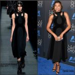 Taraji P. Henson in Alexander Wang at the 2015 Critics Choice Television Awards