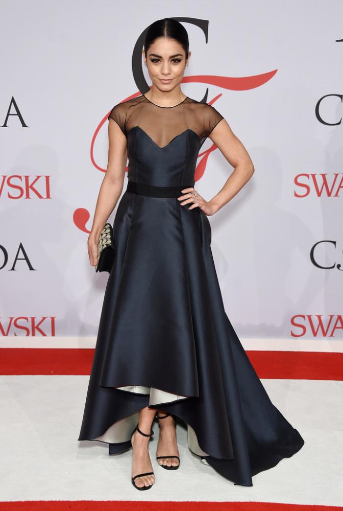 vanessa-hudgens-sachin-and-babi-2015-CFDA-Fashion-Awards-Inside-Arrivals-