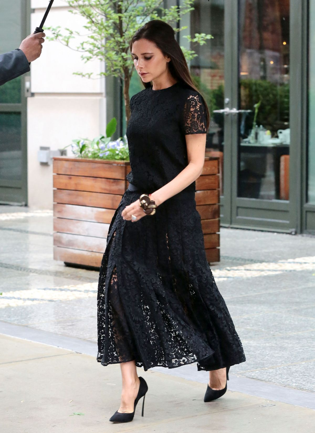 Victoria Beckham In Victoria Beckham Out In New York City Fashionsizzle