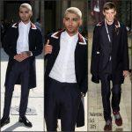Zayn Malik   attends the Valentino Spring/Summer 2016 –  Paris Men's Fashion Week