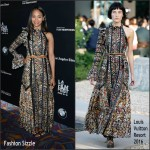 Zoe Saldana In Louis Vuitton  at  'Infinitely Polar Bear' LA Premiere