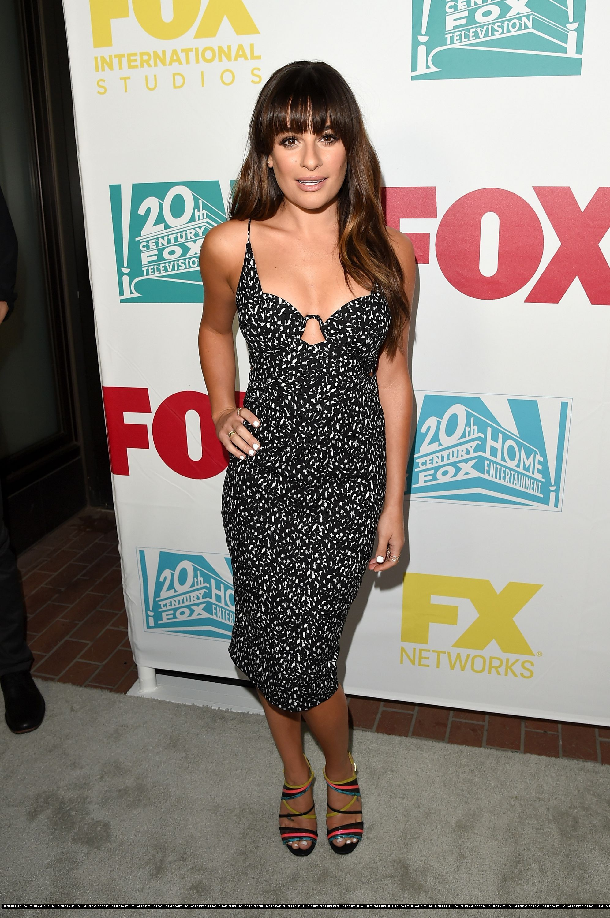 Lea- Michele in- Zimmermann – 20th Century Fox 2015 Comic--Con- International- Party