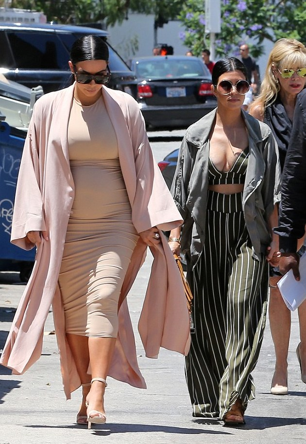 -Kourtney-Kardashians-LA-Family-Outing-Just-Enaj-ESQ-Striped-Black-Bralette-and-Wide-Legged-Pants