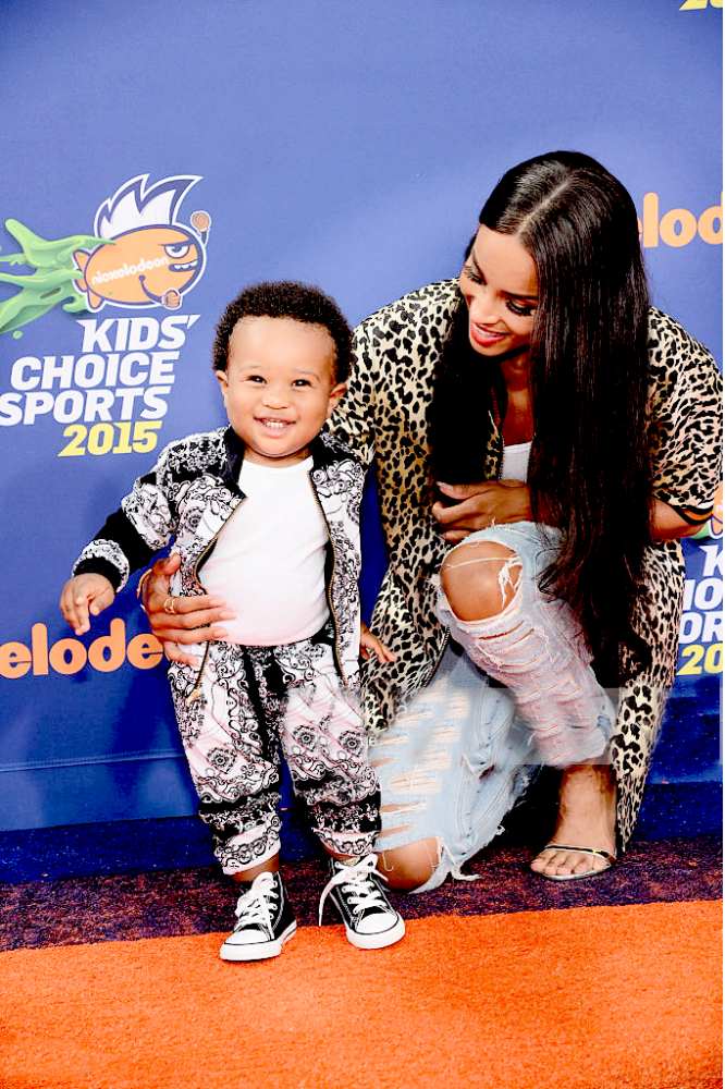 Ciara-Nickelodeon-Kids-Sports-Choice-Awards-Bouchra-Jarrar-Leopard-Varsity-Jacket