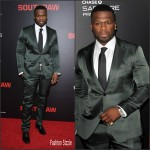 50 Cent in Dolce & Gabbana – 'Southpaw' New York Premiere