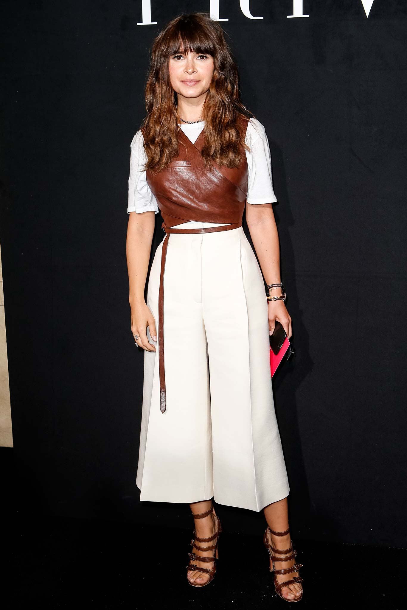 Miroslava- Duma-armani-prive-fall-2015-front-row