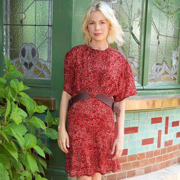 Michelle- Williams- In- Louis -Vuitton- at -Galerie- Opening
