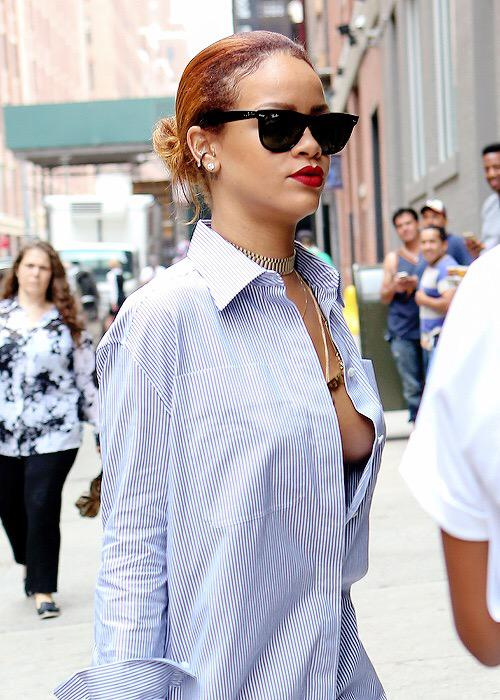 Rihanna- in-Celine -Out -in -New- York