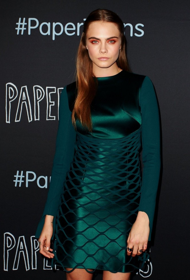 Cara-Delevingne--in-dion-lee-Paper-Towns-Photocall--