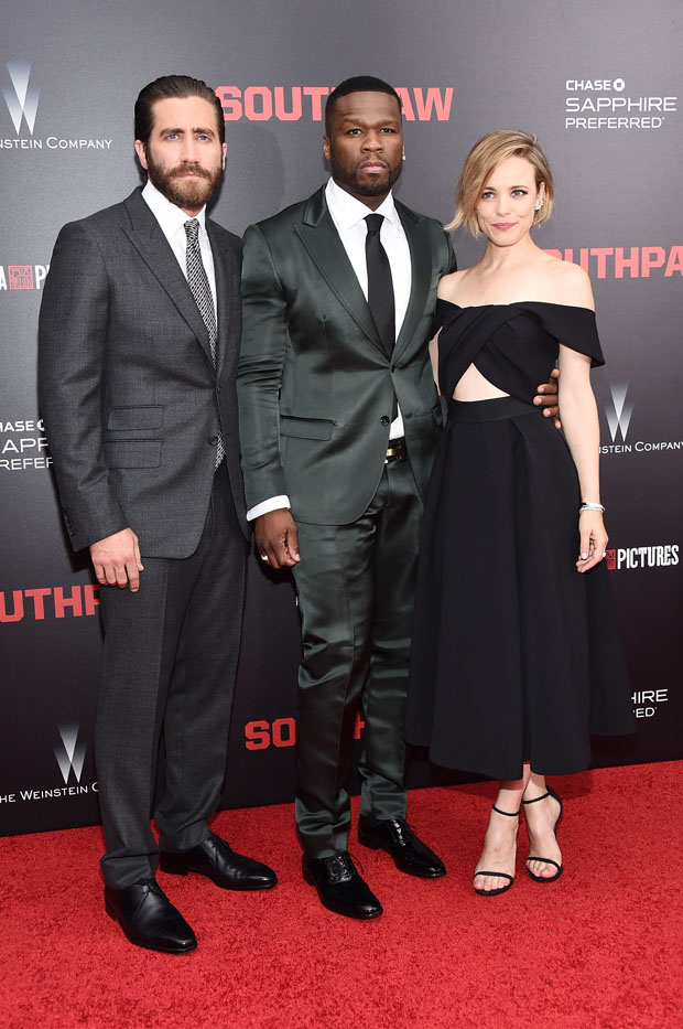 """Southpaw"" -New -York -Premiere"