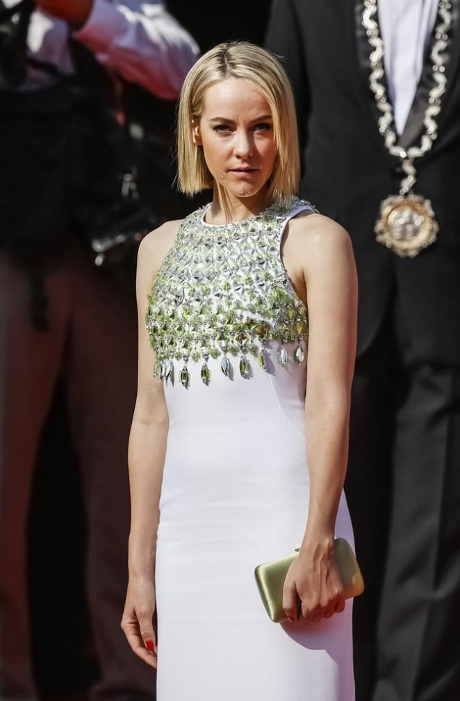 Jena Malone In Miu Miu at the 50th Karlovy Vary International Film Festival Opening Ceremony