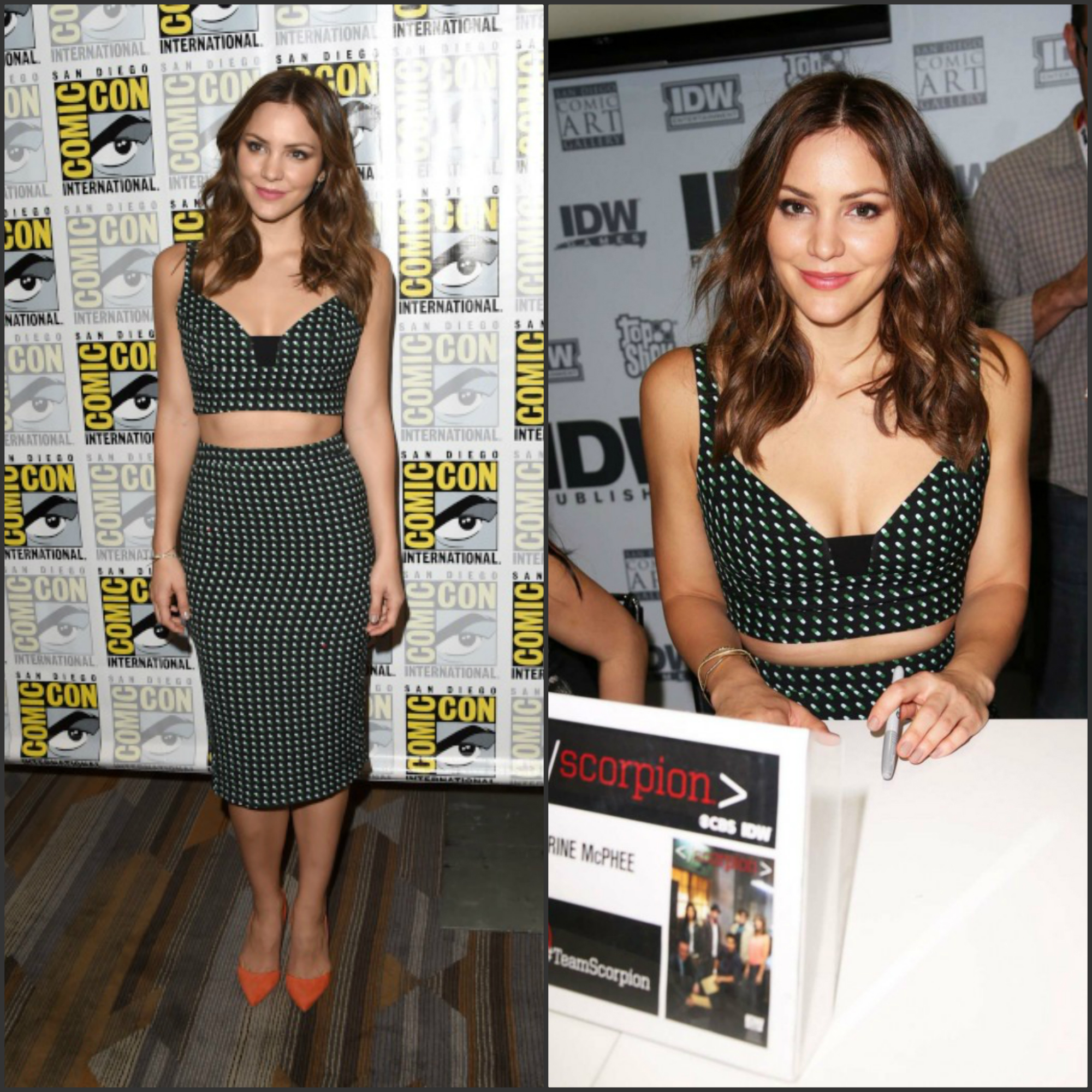 KATHERINE-MCPHEE-SCORPION-SIGNING-AND-presentation-at-the-2015-comic-con-in-san-diego