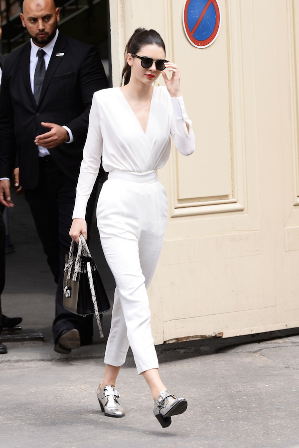 Kendall- Jenner- attends- Chanel Event- during- Paris -Fashion -Week