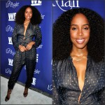LOOK OF THE DAY  :   KELLY ROWLAND   IN STELLA McCARTNEY