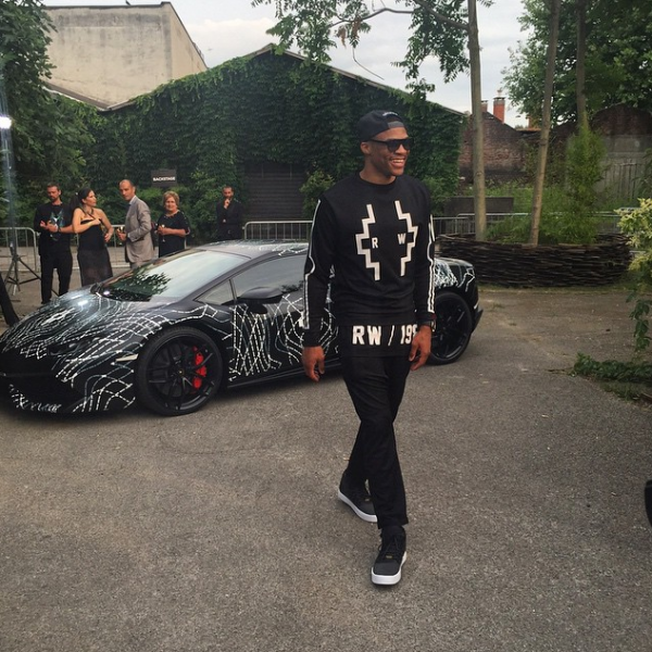 russell-westbrook--paris-mens-fashion-show