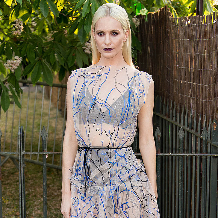 Poppy Delevingne In Christopher Kane at The Serpentine Gallery Summer Party